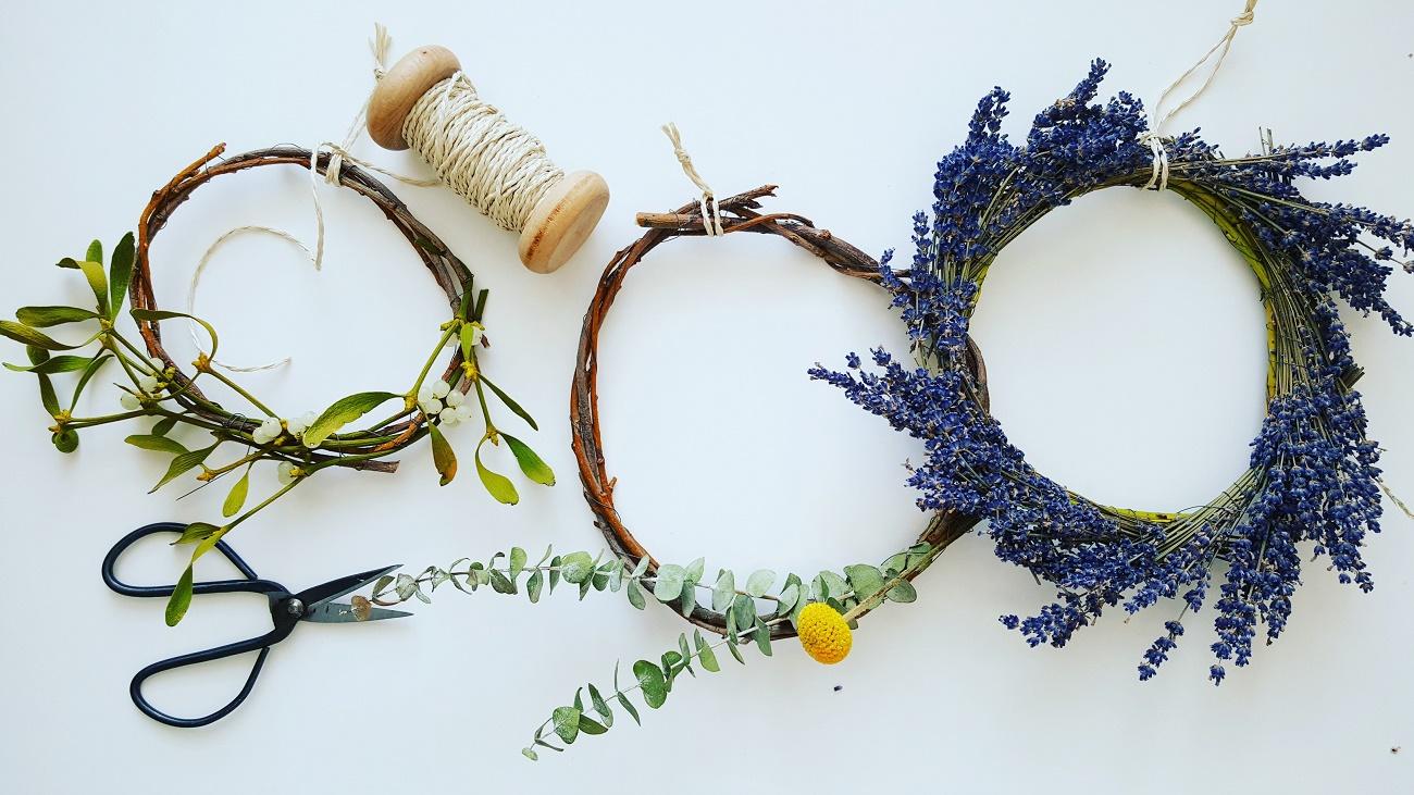 Zero Waste-DIY: Basteln und gestalten mit Naturmaterial